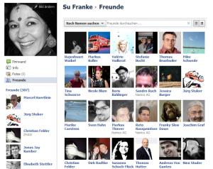 Freunde bleiben via Facebook