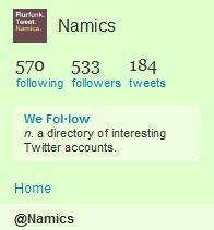 Firmenaccount Twitter